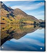 Reflections In Buttermere Uk Acrylic Print