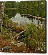 Reflections In Starvation Lake Acrylic Print