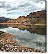 Reflections In The Blue Mesa Acrylic Print