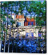 Reflections In The City Acrylic Print