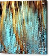 Reflections In Water Acrylic Print