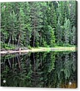 Reflections In Wtare Acrylic Print