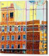 Reflections Of A City Acrylic Print