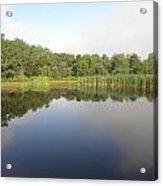 Reflections Of A Still Pond Acrylic Print