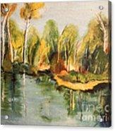 Reflections Of Age Thirteen Acrylic Print