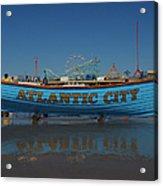 Reflections Of Atlantic City Acrylic Print