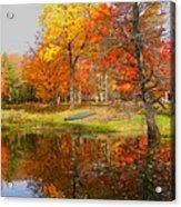 Reflections Of Autumn Acrylic Print
