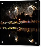 Reflections Of Epcot Acrylic Print
