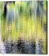 Reflections Of Fall 3 Acrylic Print