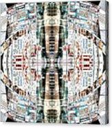 Reflections Of Gateshead 2 Acrylic Print