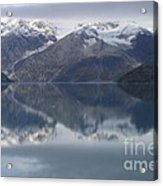 Reflections Of Glacier Bay Alaska II Acrylic Print