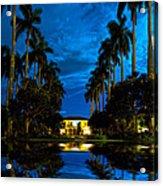 Reflections Of Grandeur Acrylic Print