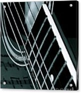 Reflections Of Music  Acrylic Print