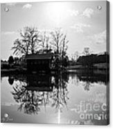 Reflections Of Peace And Tranquillity Acrylic Print by Jinx Farmer