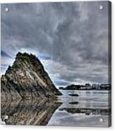 Reflections Of Tenby 2 Acrylic Print