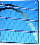 Reflections Of The St Louis Arch Acrylic Print