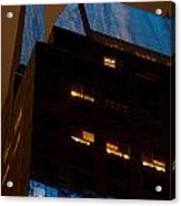 Reflections Of Times Square Acrylic Print