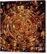 Reflections Of Yellow Acrylic Print
