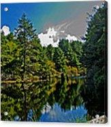 Reflections On A Lake Acrylic Print