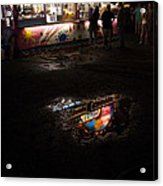 Reflections On A Mid-summer Night Acrylic Print