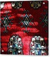 Reflections On A Persian Rug Acrylic Print