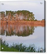 Reflections On A Summer Day Acrylic Print