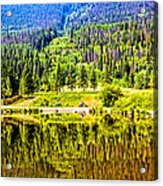 Reflections On A Summer Day - Vail - Colorado Acrylic Print