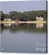 Reflections - On - Lake Weir Acrylic Print