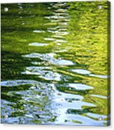 Reflections On Madrid Acrylic Print