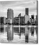 Reflections On Miami Acrylic Print