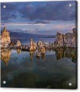 Reflections On Mono Lake 1 Acrylic Print