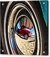 Reflections On Route 66 Acrylic Print
