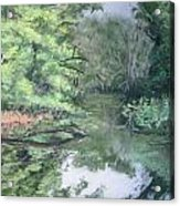 Reflections On The Valley River Acrylic Print