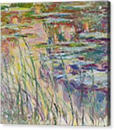 Reflections On The Water Acrylic Print