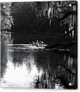 Reflections On The Withlacoochee Acrylic Print
