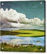 Reflections On Watership Down Acrylic Print