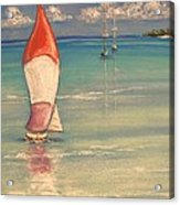Reflections Acrylic Print by The Beach  Dreamer