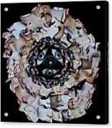 Reflective Mandala Acrylic Print