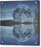 Reflective Paradise Acrylic Print