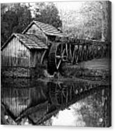 Reflective Past Acrylic Print
