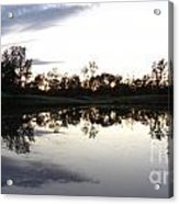 Reflective Pond Acrylic Print