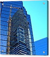 Reflective Towers Acrylic Print