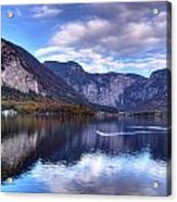 Reflectons Of Hallstatter See I Acrylic Print