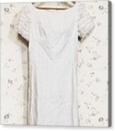 Regency Gown Acrylic Print
