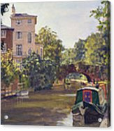 Regent S Park Canal Acrylic Print