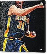 Reggie Miller Acrylic Print