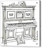 Regina Player Piano Acrylic Print