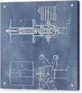 Regulator For Dynamo Electric Machine Patent Acrylic Print