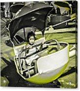 Rehoboth Amusement Girl Acrylic Print