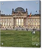 Reichstag Berlin Germany Acrylic Print